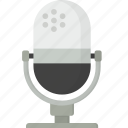 audio, microphone, sound icon