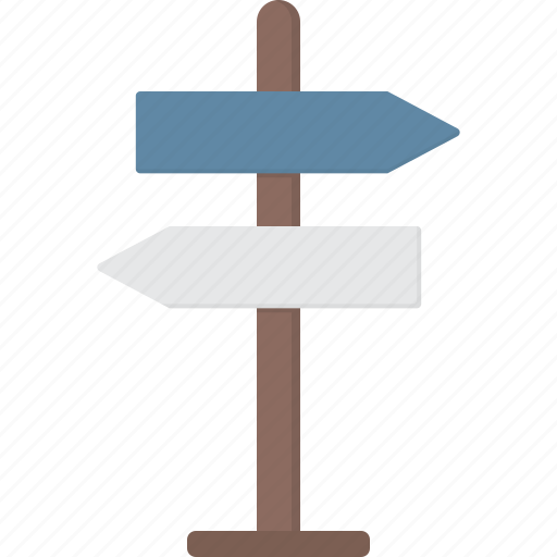 crossroad, directions, directory, signpost icon