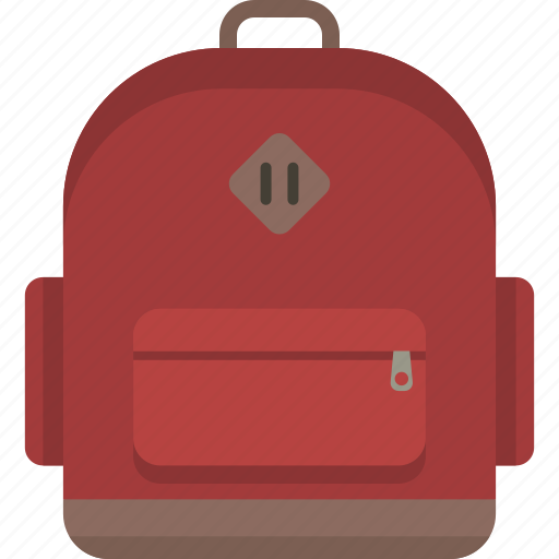 Backpack, bag, bookbag, knapsack, rucksack icon - Download on Iconfinder