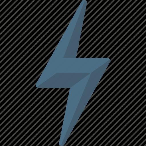 bolt, energy, lightning icon