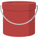 bucket, pail icon