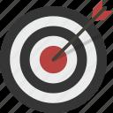 aim, archery, bullseye, goal, target