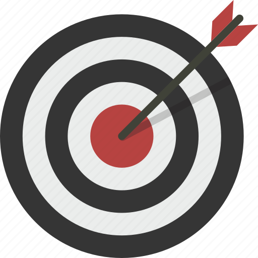 Aim, archery, bullseye, goal, target icon - Download on Iconfinder