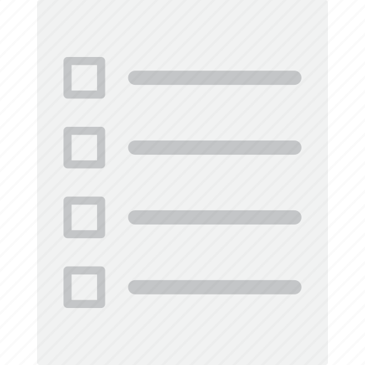 check list, checklist, document, to do list icon