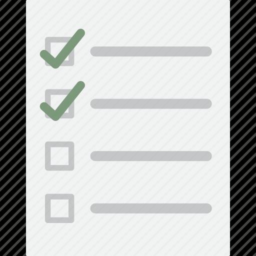 check list, checklist, document, to do list icon
