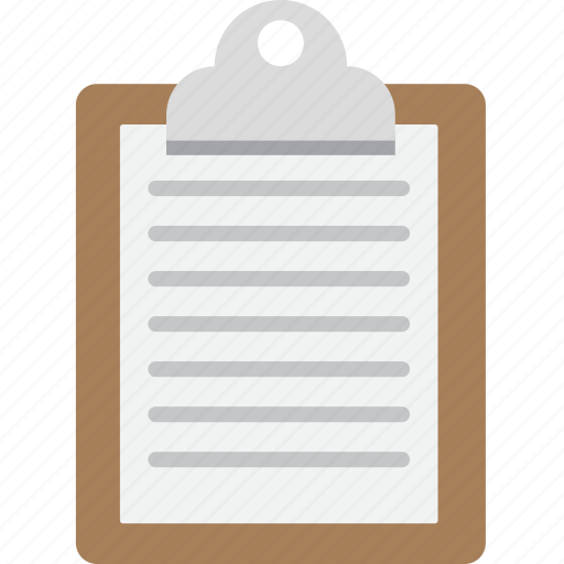Clipboard, letter, memo, note icon - Download on Iconfinder