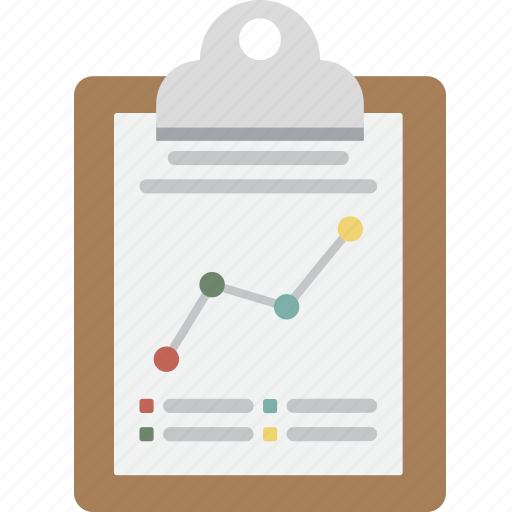 business, clipboard, growth, memo, note, seo icon