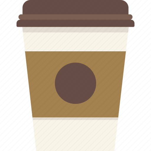 coffee, cup, starbucks, takeout, travel icon