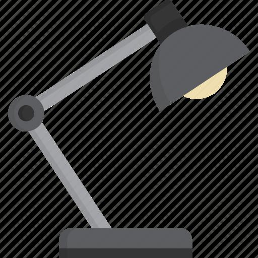 Desk, lamp, light icon - Download on Iconfinder