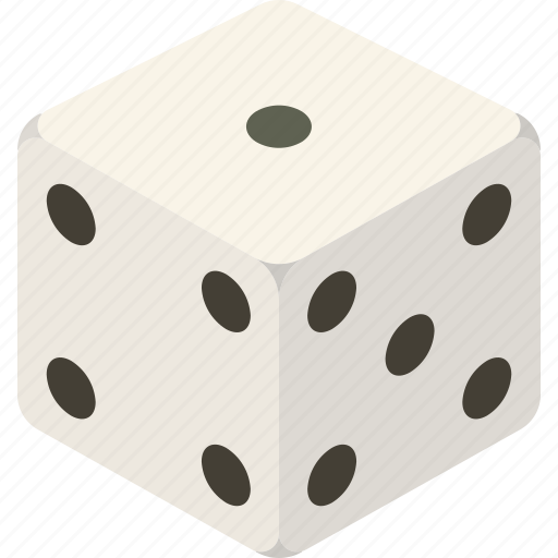 dice, die, game, roll icon