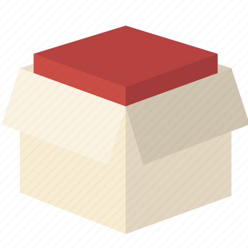 Box, delivery, filled, moving, open, package icon - Download on Iconfinder