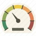 dashboard, gauge, measure, meter, performance icon