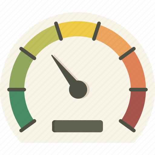 dashboard, gauge, measure, meter, performance icon