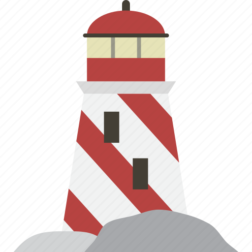 direction, lighthouse, navigation icon