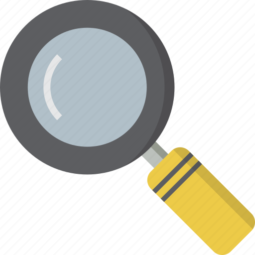 glass, magnify, magnifying, search, zoom icon