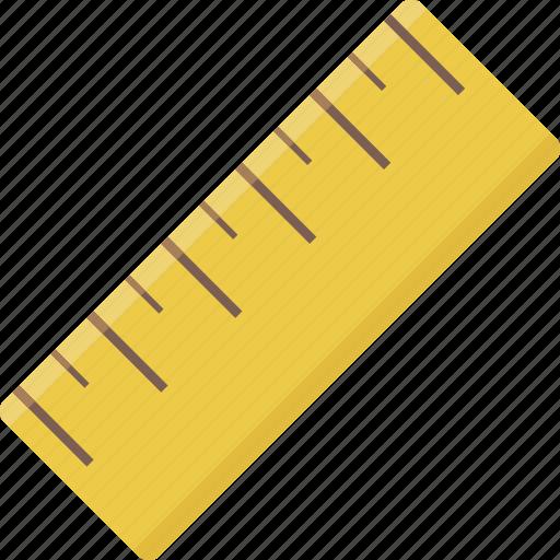measure, ruler, tool icon