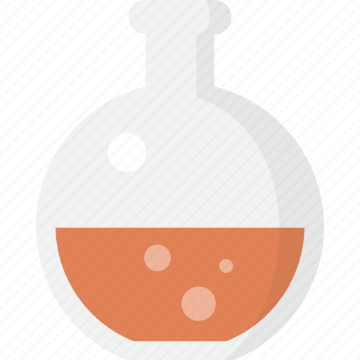 bottle, chemistry, experiment, flask, science, test icon