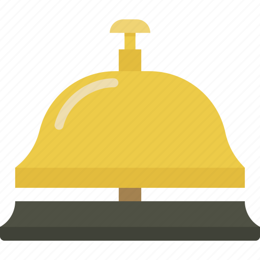 bell, hotel, service icon
