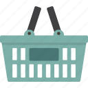 basket, cart, checkout, shopping, store icon