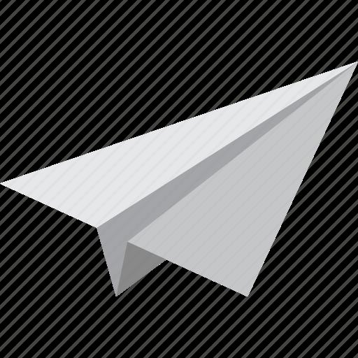 mail, paper, plane, send icon