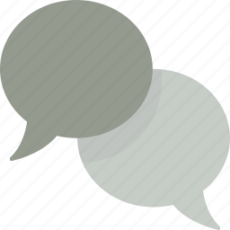 bubble, bubbles, chat, conversation, speech, talk icon