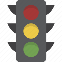 driving, light, traffic, traffic light icon