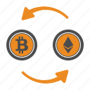 bitcoin, bitcoins, blockchain, ethereum icon