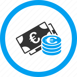 bank, banking, cash, currency, euro money, finance, payment icon