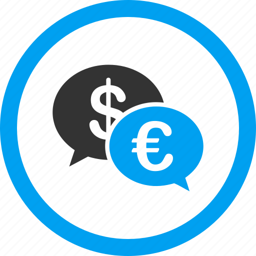banking transactions, business chat, cash, communication, euro, finance, money icon