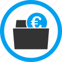cash, euro, finance, money, purse, shopping, wallet icon