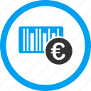 bar code, barcode, euro, number, price label, product, tag icon