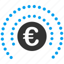 eur, euro, european, financial, glamour, insurance, shield icon