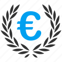 award, euro, european, glory, honor, success, triumph icon