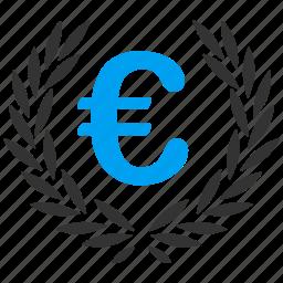 award, euro, european, glory, honor, success, triumph icon