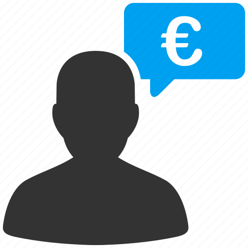 communication, euro, european, idea, message, offer, opinion icon