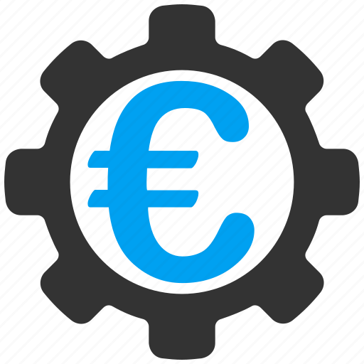 euro, european, industry, options, payment, settings, system icon