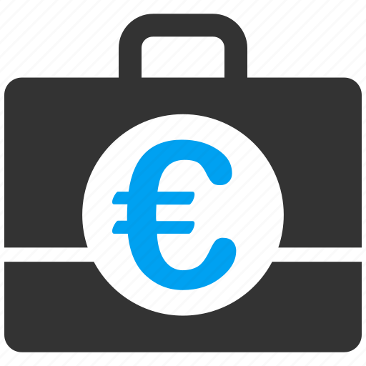accounting, business, commerce, euro, european, finance, financial icon