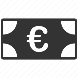 banknote, cash, commerce, currency, euro, european, money icon
