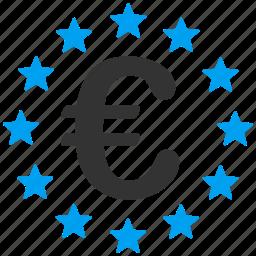 business, commerce, eu zone, euro, european union, financial, lottery prize icon