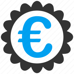 best, business, commerce, euro, european, quality, warranty icon