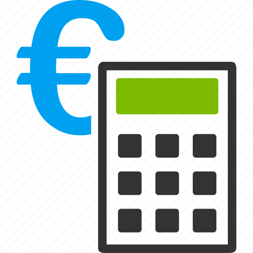 accounting, balance, euro, european, finance, financial, money icon