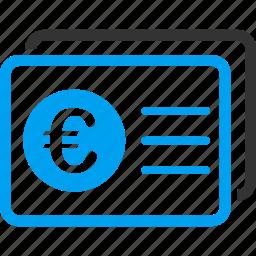 access, accounts, balance, business, euro, european, login icon