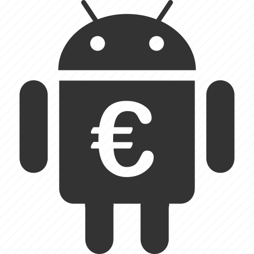 android, electronic, euro, european, mobile, robot, robotics icon
