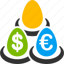 bank, banking, deposits, euro, european, fund, invest icon