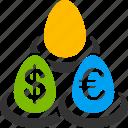 bank, banking, deposits, euro, european, fund, invest icon
