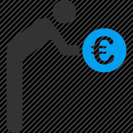 euro, european, finance, money, offer, serve, service icon
