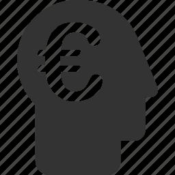 banker, businessman, capitalist, economist, euro, european, rich icon