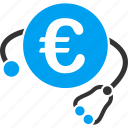 clinic, euro, european, health, healthcare, medical, medicine icon