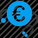 clinic, euro, european, health, healthcare, medical, medicine icon