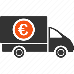 cost, delivery, euro, european, financial, shipping, transfer icon